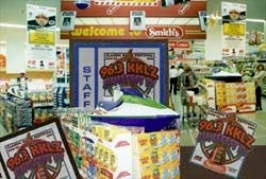 IN STORE DISPLAYS & PROMOTIONS