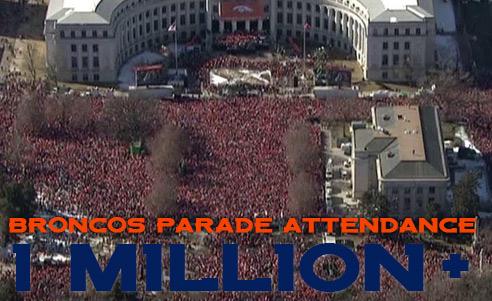 broncos parade attendance